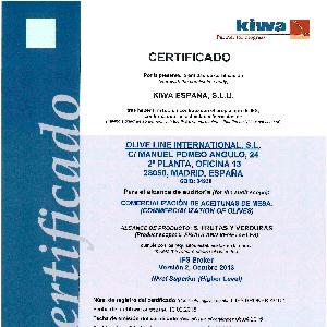 Сертификат IFS Broker v2
